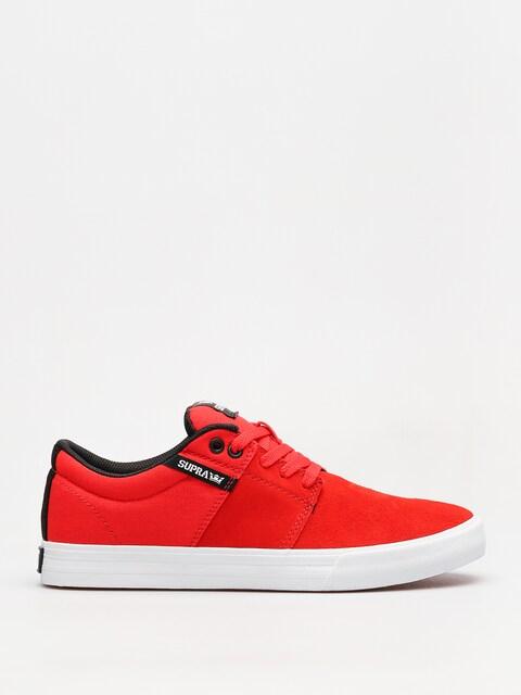 Topánky Supra Stacks II Vulc (risk red white)