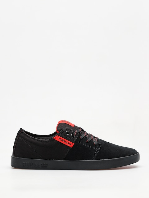Topánky Supra Stacks II (black/risk red black)