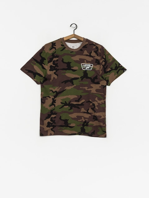 Tričko Vans Full Patch Back (camo/white)