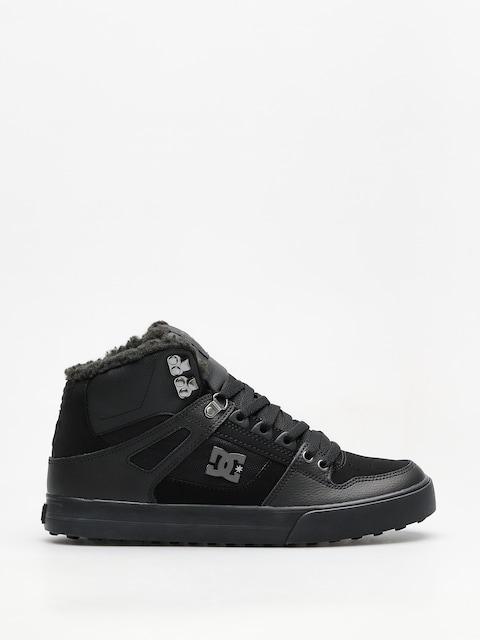 Zimné topánky DC Pure Ht Wc Wnt (black/black/black)