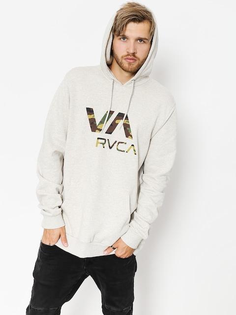 Mikina s kapucňou RVCA Va Rvca HD (snow marle)