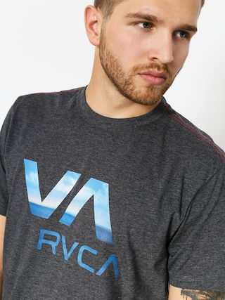 Tričko RVCA Va Rvca (charcoal)