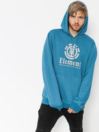 Mikina s kapucňou Element Vertical HD (blue steel)