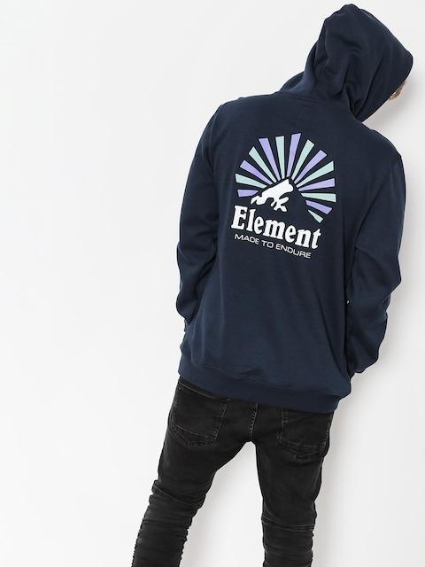 Mikina s kapucňou Element Rising HD (eclipse navy)