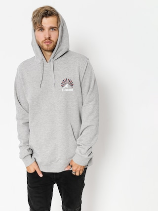 Mikina s kapucňou Element Rising HD (grey heather)