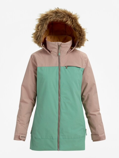 Snowboardová bunda Burton Lelah Wmn (fawn/fldspr)