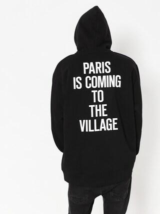 Mikina s kapucňou Carhartt WIP Tvc Paris HD (black/white)
