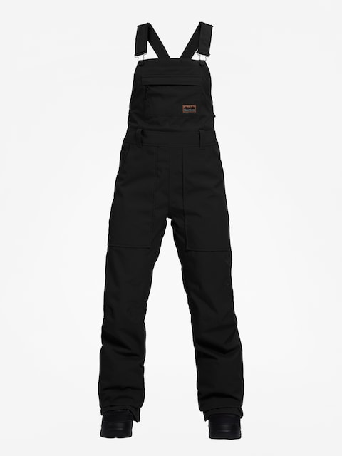 Snowboardové nohavice Burton Avalon Bib Wmn (true black)