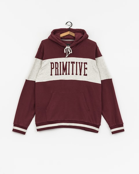 Mikina s kapucňou Primitive League Paneled HD (burgundy)