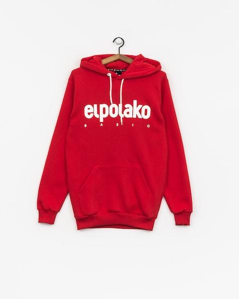 Mikina s kapucňou El Polako Classic HD (red)