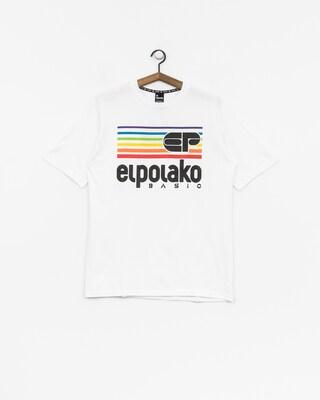 Tričko El Polako Rainbow (white)