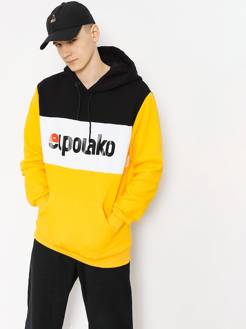 Mikina s kapucňou El Polako Elpo New HD (yellow)