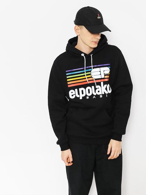 Mikina s kapucňou El Polako Rainbow HD