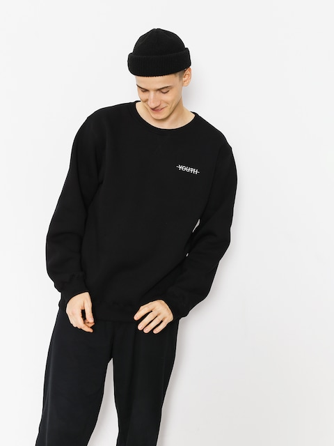 Mikina Youth Skateboards Crewneck Youth Logo (black)