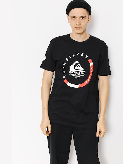 Tričko Quiksilver Quik Pro Frt 18 (black)