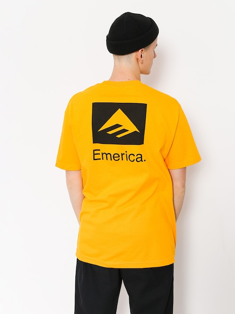 Tričko Emerica Brand Combo (gold)