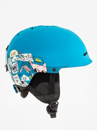 Prilba Quiksilver Empire (animal part blue)