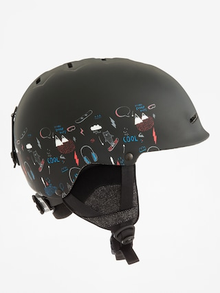 Prilba Quiksilver Empire (maoam tatt black)