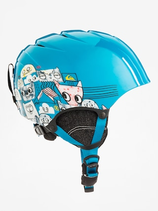 Prilba Quiksilver The Game (animal part blue)