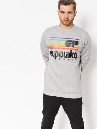Mikina El Polako Rainbow (grey heather)