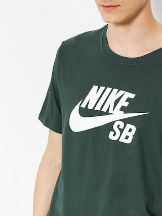 Tričko Nike SB Sb Logo (midnight green/white)