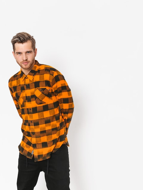 Košeľa Primitive Buffalo LS (sunset/black)