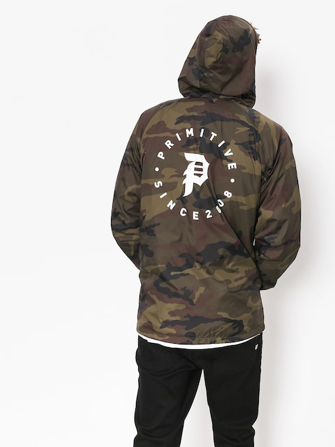 Bunda Primitive Dirty P Windbreaker (camo)