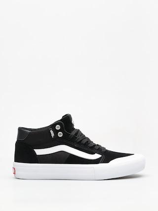 Topu00e1nky Vans Style 112 Mid Pro (black/white)
