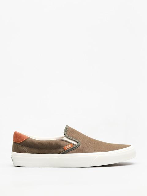 Topánky Vans Slip On 59 (dusty olive)
