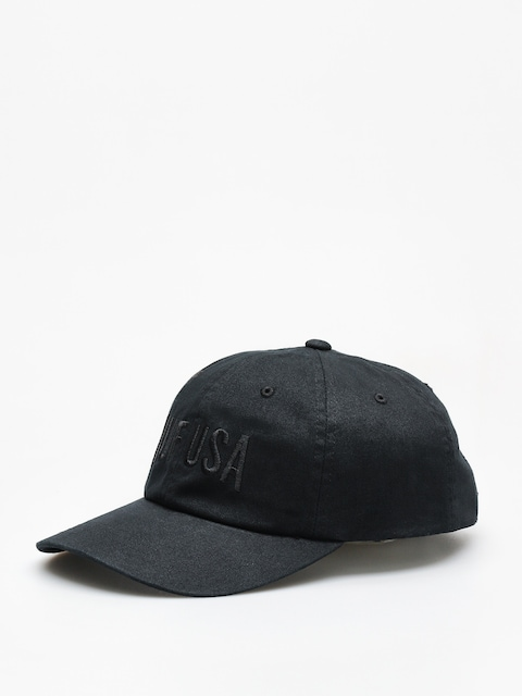 Šiltovka HUF Team Curved Visor 6 Pannel ZD (black)