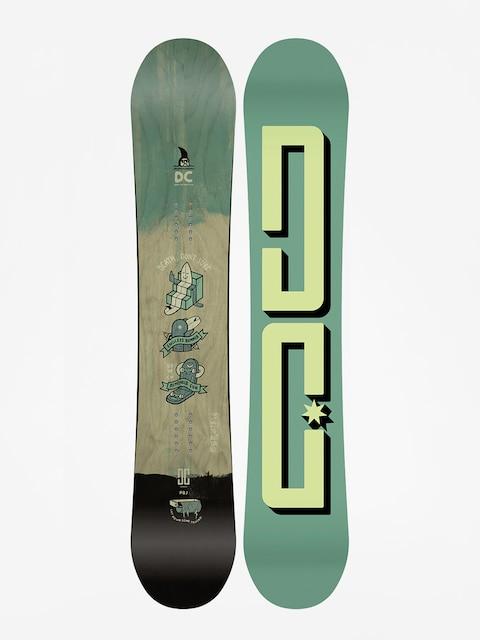 Snowboard DC Pbj (green/lime)
