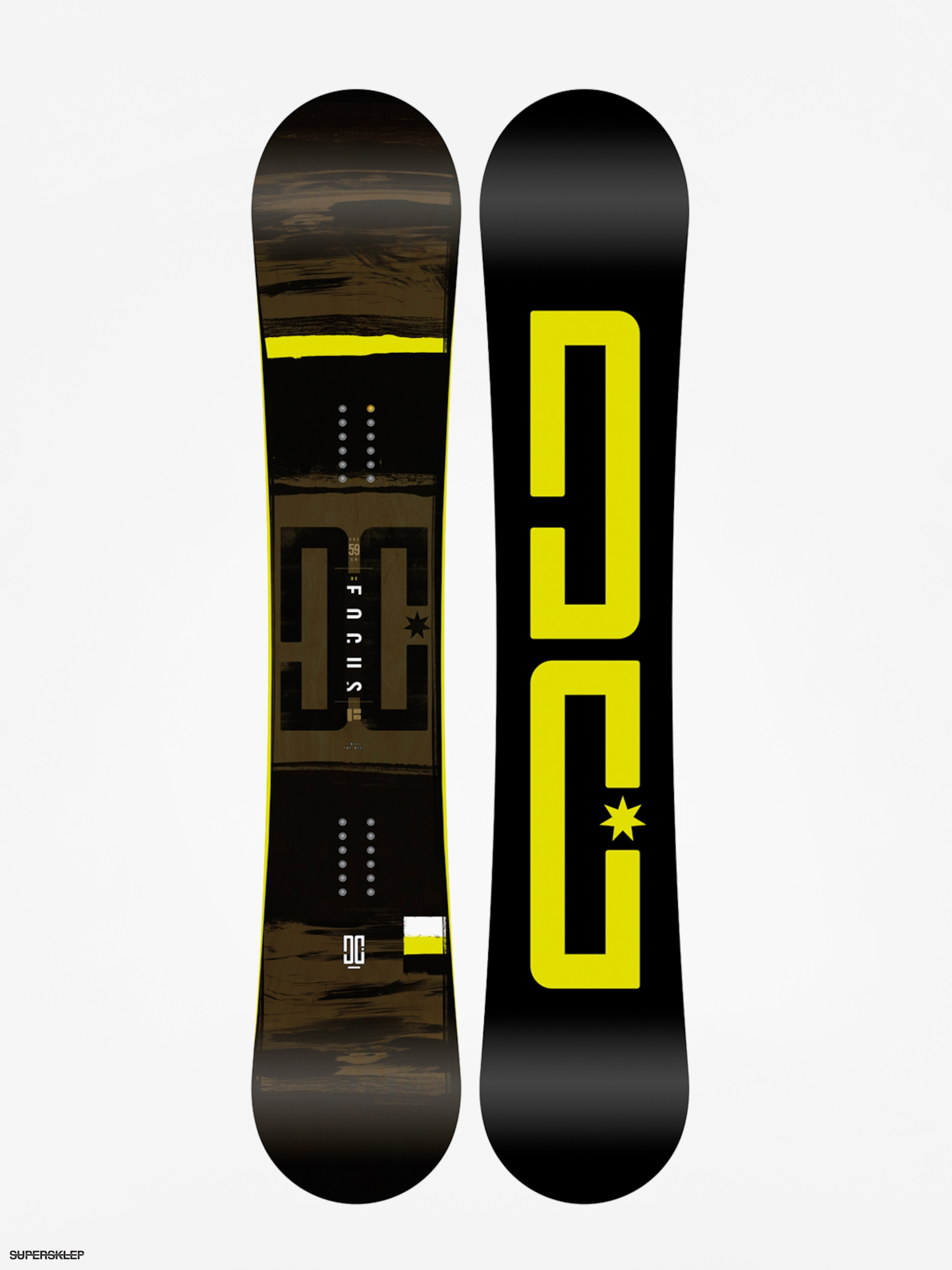 afe9f49b029cd Snowboard DC Focus (black/lime)