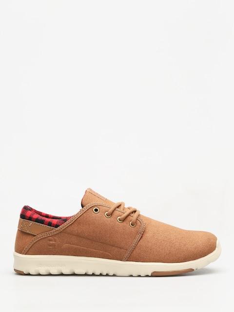 Topánky Etnies Scout (brown/tan/brown)