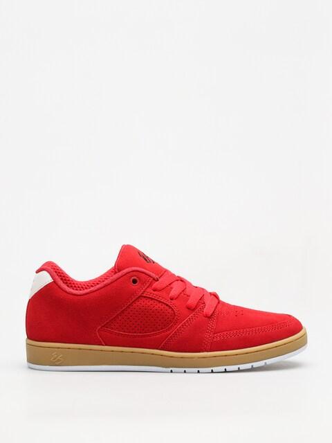Topánky Es Accel Slim (red/gum)