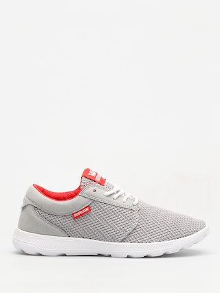 Topánky Supra Hammer Run (lt grey/risk red white)