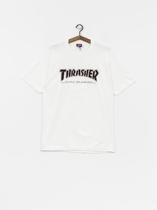 Tričko Independent x Thrasher Ttg (white)