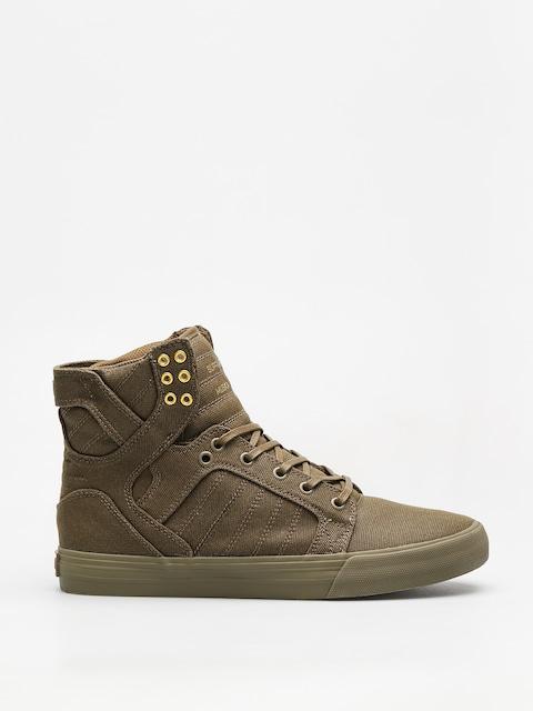 Topánky Supra Skytop (olive)
