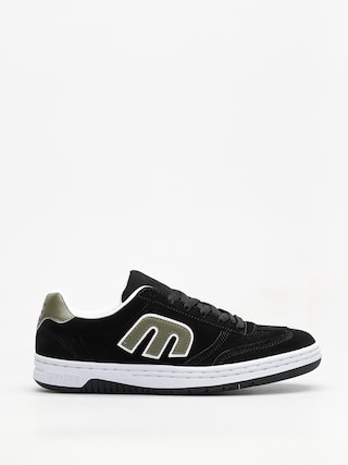 Topu00e1nky Etnies Lo Cut (black/green/white)