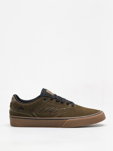 Topánky Emerica The Reynolds Low Vulc (olive/black/gum)