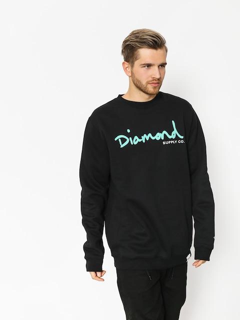 Mikina Diamond Supply Co. Og Script (black)