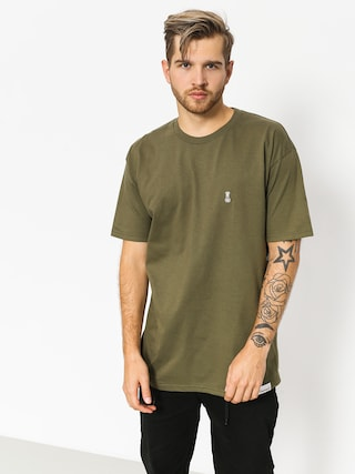 Tričko Diamond Supply Co. Fasten (military green)