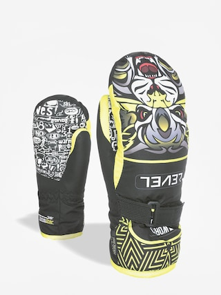 Rukavice Level Junior Mitt (yellow)