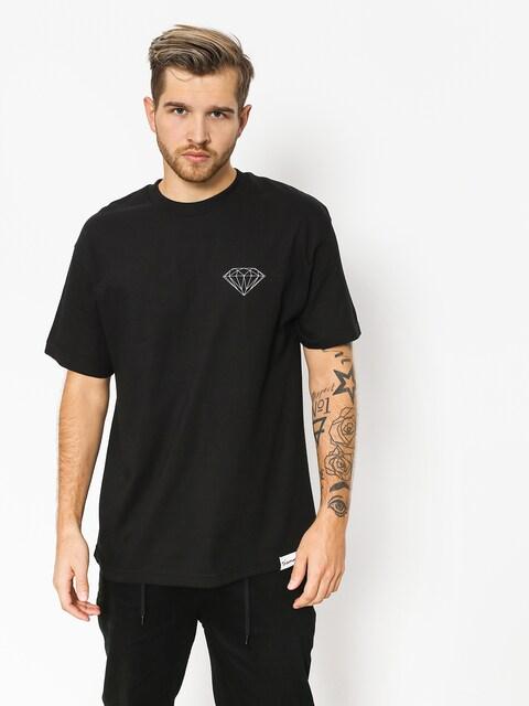 Tričko Diamond Supply Co. Clockwork (black)