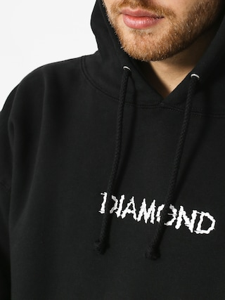 Mikina s kapucňou Diamond Supply Co. Shift Skate HD (black)