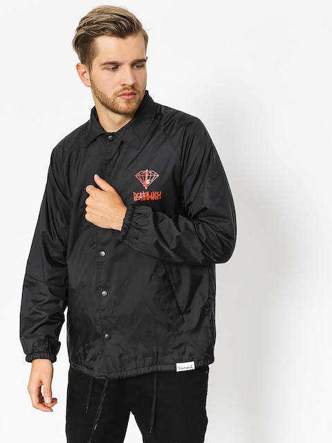 Bunda Diamond Supply Co. Dmnd X Deathwish Coaches (black)