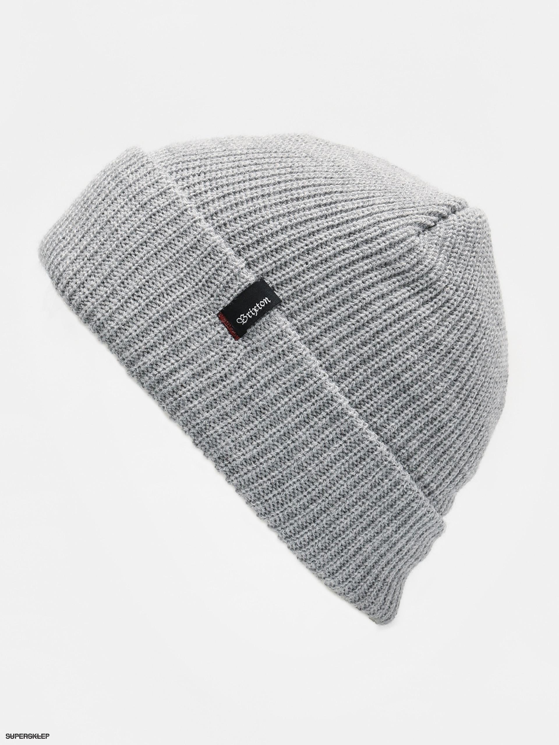 Čiapka Brixton Heist Beanie (light heather grey) dfeee90e8893