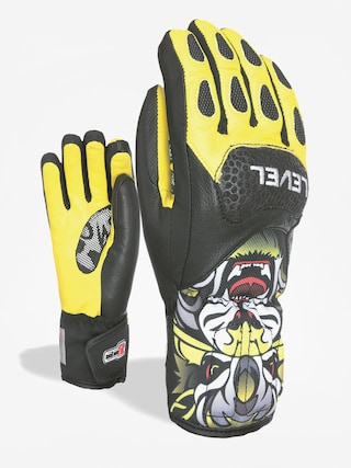 Rukavice Level Sq Jr Cf (yellow)