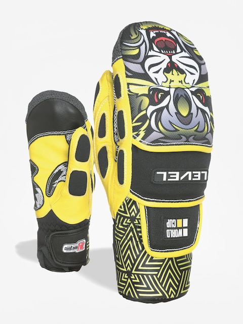 Rukavice Level Worldcup Jr Cf Mitt (yellow)