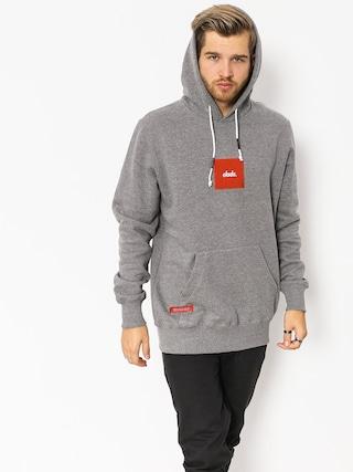 Mikina s kapucňou Elade Square HD (grey)
