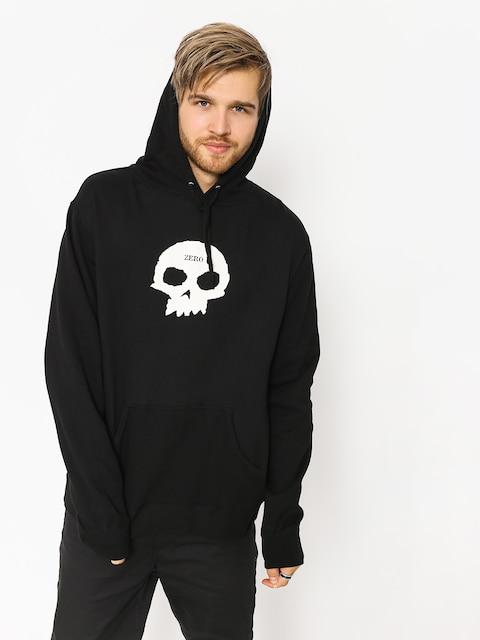 Mikina s kapucňou Zero Single Skull HD
